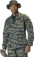 Tiger Stripe Camouflage Military Uniform Fatigue Bdu Shirt