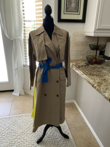 AuthenticMSGM Women's Belted Classic Trench Coat