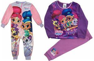 filles-nickoldeon-brillant-et-Shine-Long-Pyjama-age-1-5-pour-5-ans