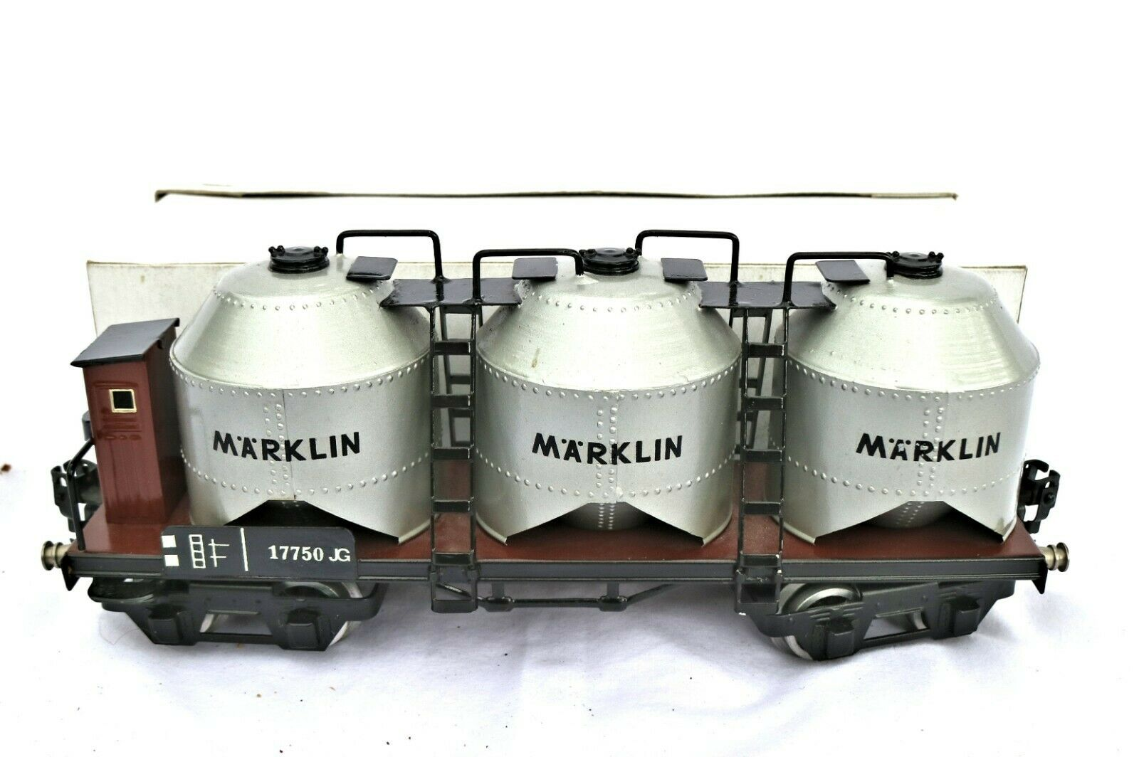 G63K  Grossmann Replica Marklin O Gauge Lignite Mining Wagon 1775
