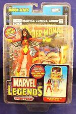 Marvel Legends Toy Biz Modok Series Spider-Woman Build A Action Figure BAF