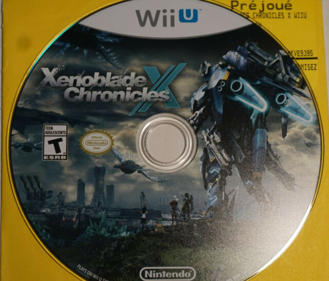 Xenoblade Chronicles X (Nintendo Wii U)   Game Disc Only, Mint Condition, TESTED