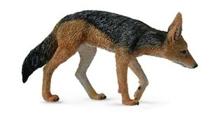 Black-Backed Jackal Sighthound 2 13/16in Wild Animals Collecta 88665