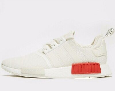 ?? ADIDAS ORIGINALS NMD R1 RIPSTOP ® ( Men Sizes UK: 10.5 & 11 ) OFF White Red | eBay