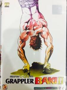 Grappler Baki II ( Chapter 1-24 End ) English SUB Ship from
