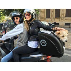 sélectionner pour plus récent en stock de gros Dettagli su TRASPORTINO CANE GATTO animali moto auto PET ON WHEELS POW fino  a 10kg
