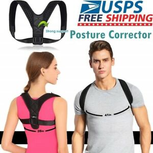 Adjustable-Therapy-Posture-Corrector-Clavicle-Back-Support-Brace-Belt-Men-Women