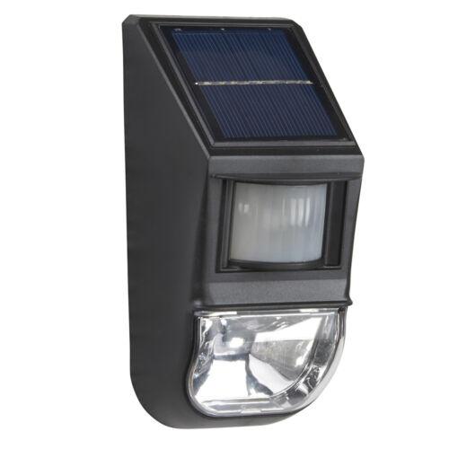 Zennox Security Wall Spot Light LED Motion Sensor PIR Solar Power Waterproof NEW