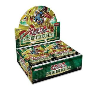Yugioh Rise of The Duelist Factory Sealed Booster Box 1st Edition Presale 8/6