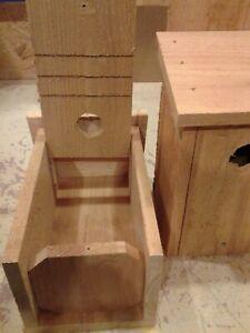 4 Bluebird Cedar Bird House New Handmade 5/8 Cedar