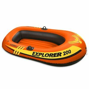 Intex-Explorer-Pro-200-2-Person-Youth-Inflatable-PVC-Boat-Raft-Raft-Only
