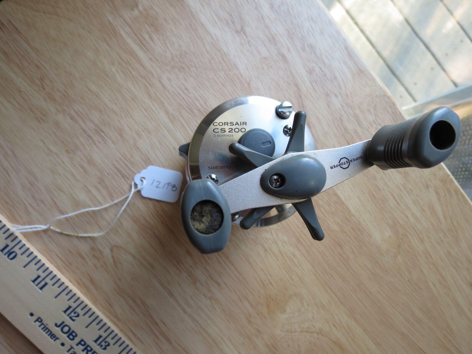 Shimano Cosair CS 200  fishing reel  (lot)  free shipping