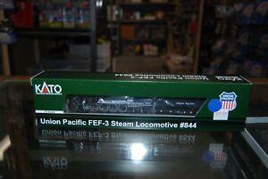 N-Scale-Kato-126-0401-FEF-3-Steam-Locomotive-Union-Pacific-844