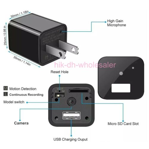 2020 NEW UX-17 Scout USB Camera HD1080p GENUINE Hidden DVR Surveillance CIA FBI