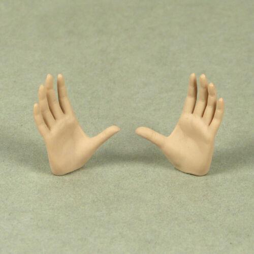 1//6 Scale Phicen TBLeague Female Open Palm Gestured Hands Pale Suntan Color