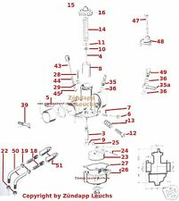 Kreidler Bing SLH Vergaser Feder 60-282   -13- Bing 1/19/  Bing 19 mm
