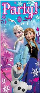 Disney FROZEN Scene Setter HAPPY BIRTHDAY party 12 photo booth props Anna Elsa