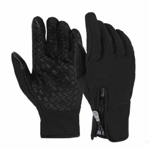 Cycling Touch Screen Gloves Full Finger Bike Gel Warm Windproof Winter  Outdoor
