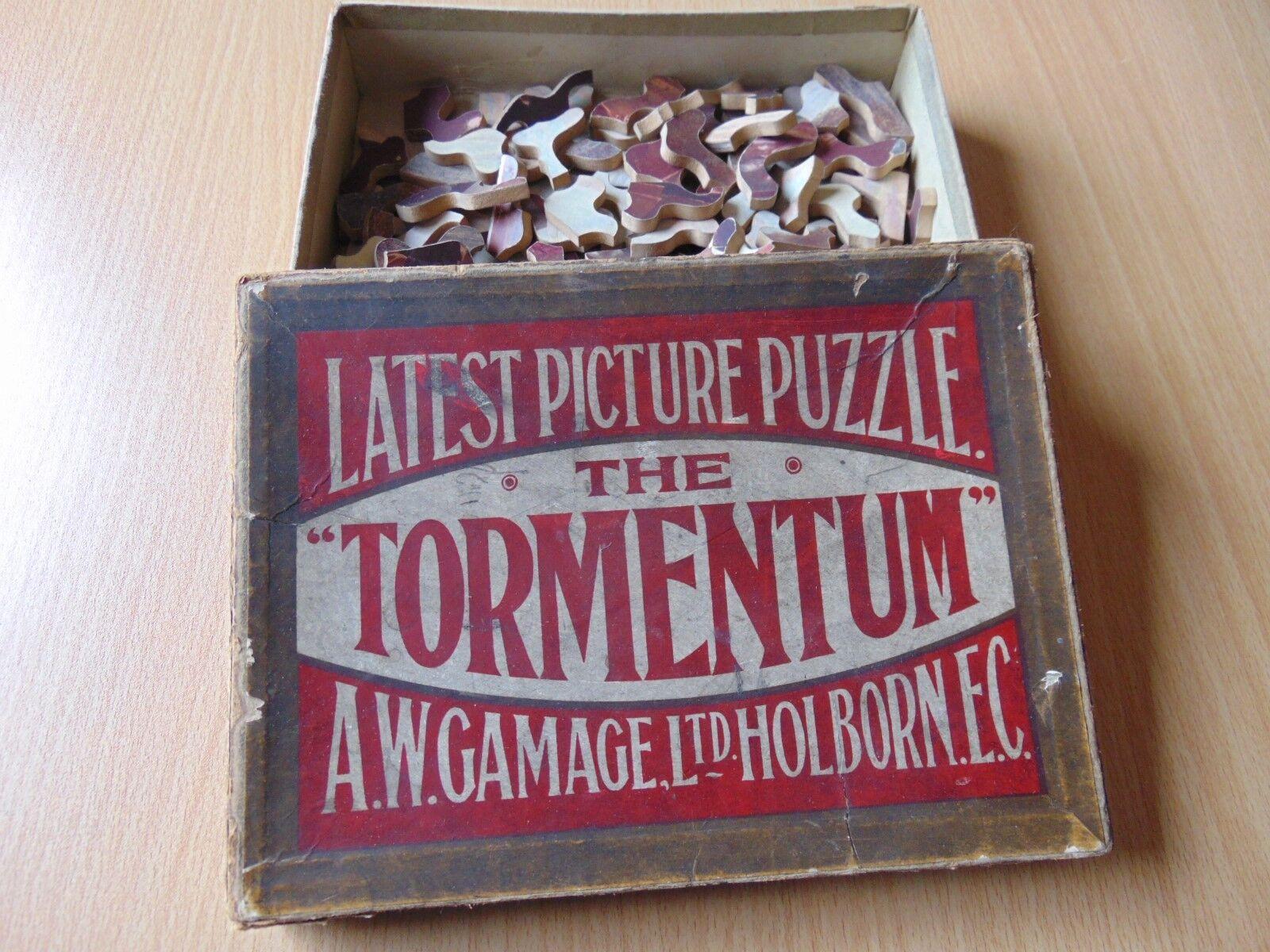 Knappe doppelseitig holz - puzzle tormentum gamage holborn kunst serie