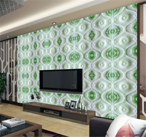 3D Green Jade 890 Wallpaper Mural Paper Wall Print Wallpaper Murals UK Carly