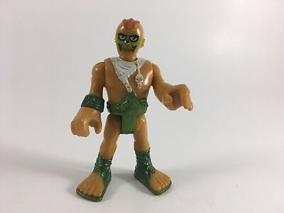 Fisher-Price Imaginext Ultra T Rex Cave man  #4 Figure