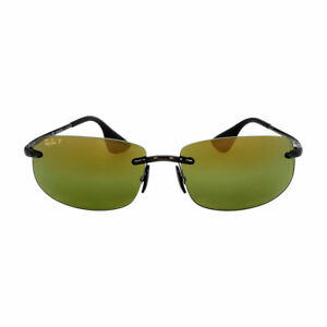 9c0f471466 Ray Ban Sunglasses Chromance Grey Green Polarized Rb4254 621 6o 62 ...