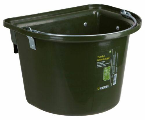 Tournoi-nourriture crèche vert avec accroche à repasser poignée
