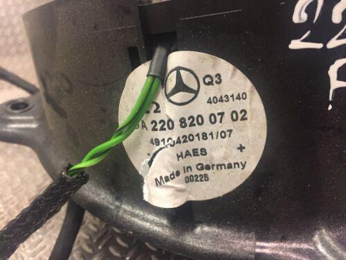 Mercedes Lautsprecher Tür Benz S KLASSE W220 Linke Vorderseite Gebrauchte