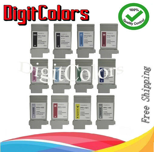 PFI103 New Compatible ink cartridge for Canon ipf 6100 Black