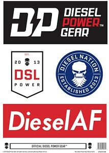 Diesel-Power-Gear-Sticker-Set-B-FREE-with-any-DPG-T-Shirt-Dodge-Ford