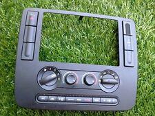 2004-2007 FORD FREESTAR DASH RADIO RADIO TRIM BEZEL W/HEAT CONTOL UNIT BLACK A1