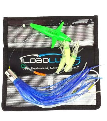 Lobo Lures Super Glow B2 Bomber Series Big Game Fishing Daisy Chain SS Jet Head