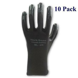 Nitrile Work Gloves - Sold By 10 Pack, Case and Pallet - Up to 33% off in Bulk Canada Preview