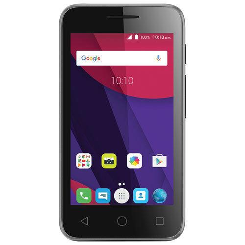 Alcatel LUME A466T Unlocked-Black Android (6.0) Smartphone z