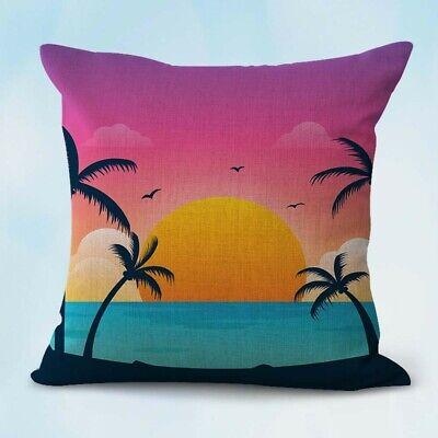 Tropical Beach Palm Tree Serenity Wholesale Pillow Case Decorative Ebay