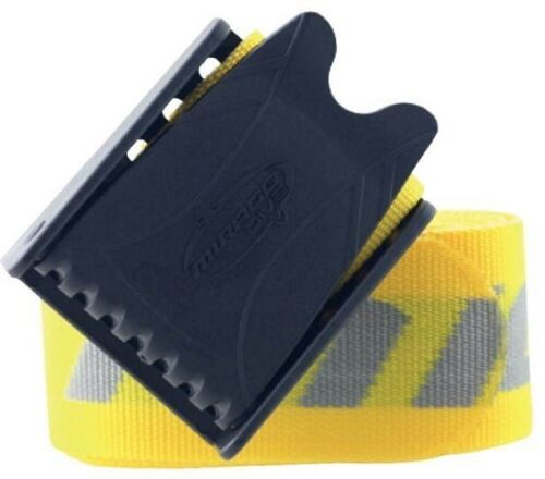 Mirage Scuba Diving Weight Belt Webbing with Plastic Buckle in Yellow