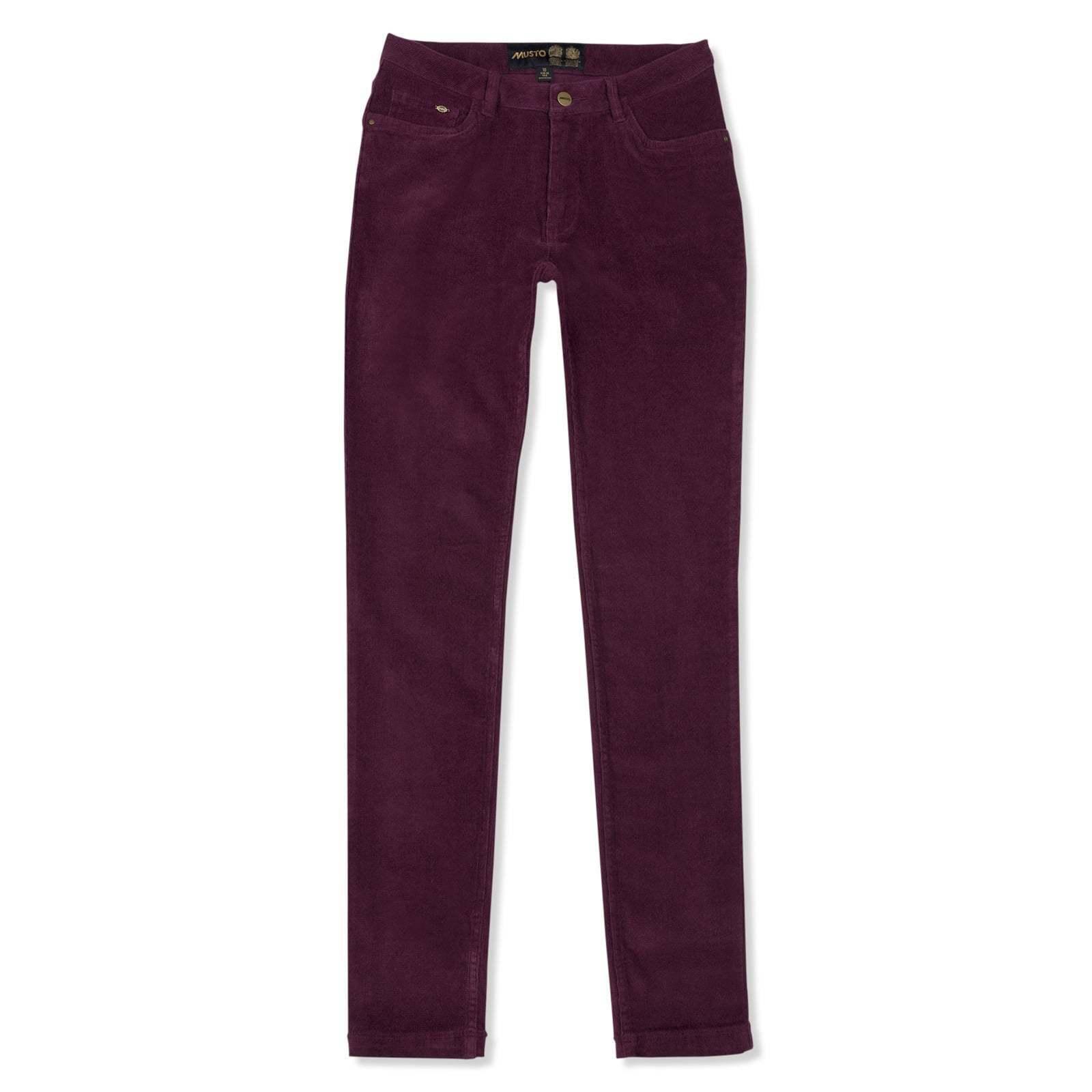 dbb763fcf180 ... Pantaloni Donna Musto paese-di Prugno e pettinata verde-erano ora .95  272909 ...