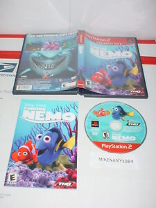 Disney's FINDING NEMO game complete w/ Manual - Playstation 2 PS2 -GREATEST HITS