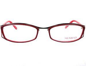 Eyeglass Frames Germany : Menrad 13064 Combination Rectangular Eyeglasses Burgundy ...