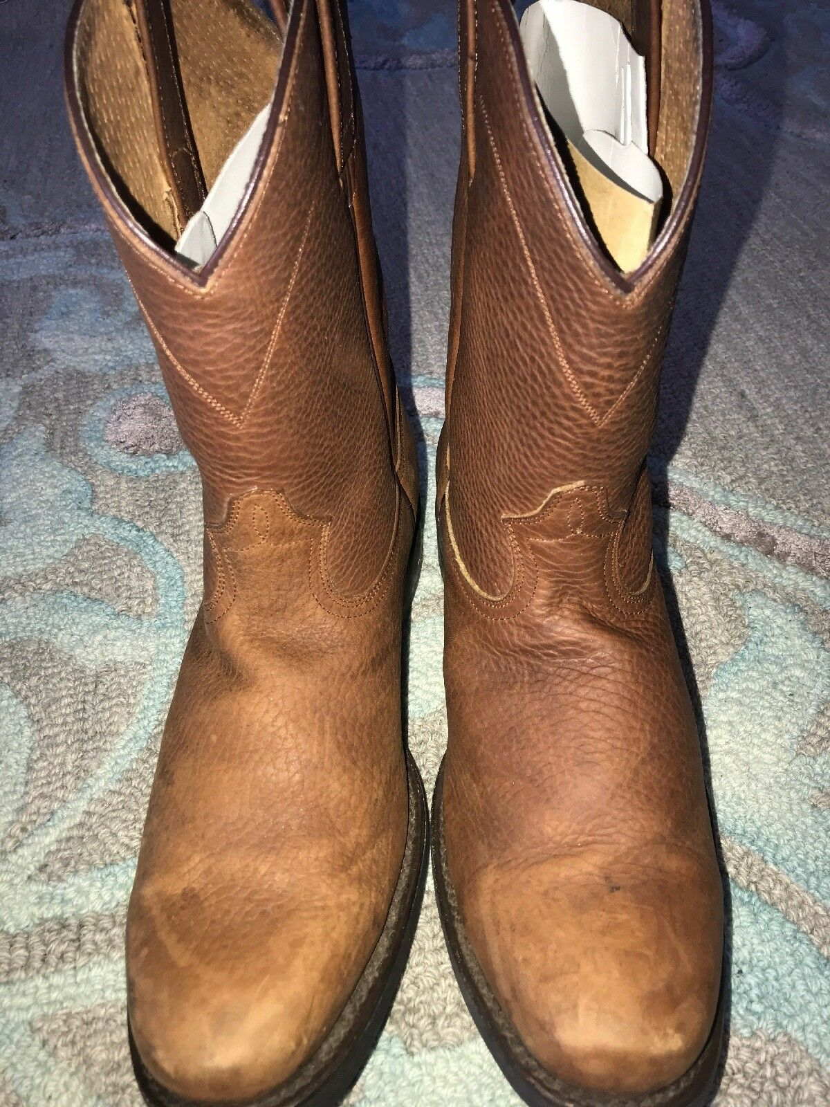 Western Cowboy Boots Made In Mexico Sz 9.5 Forastero