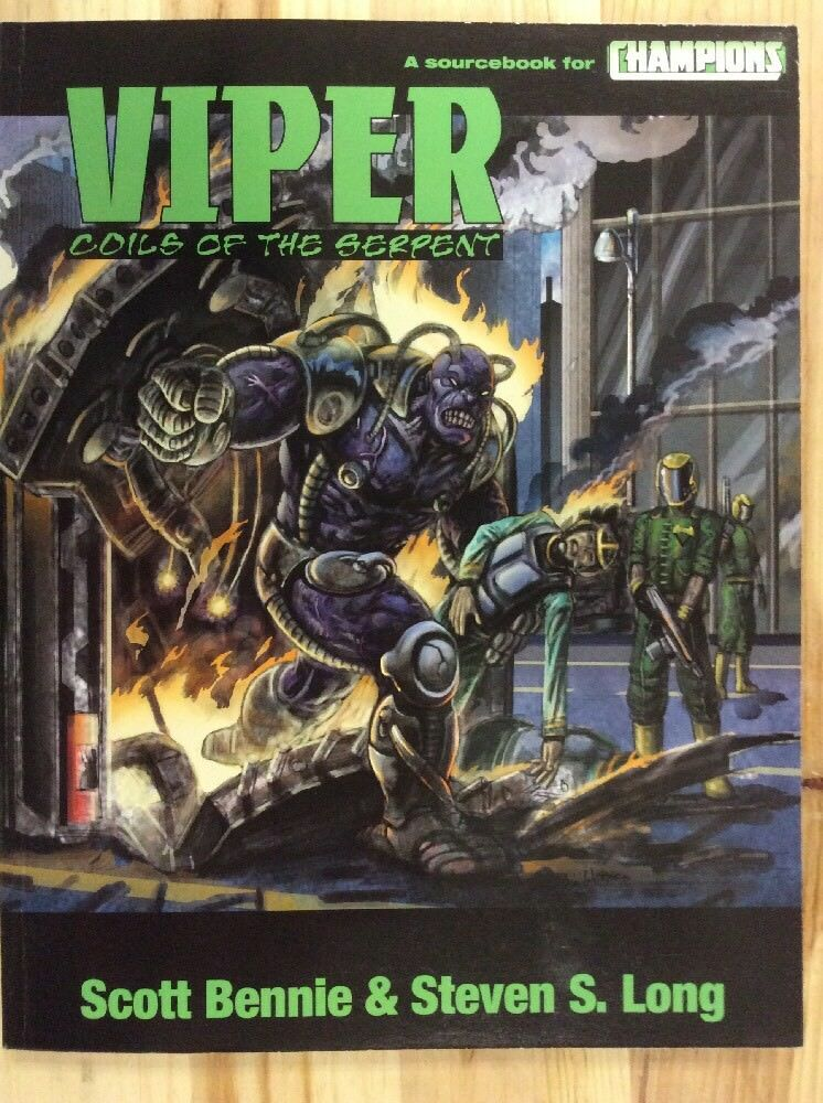 Viper Coils Of The Serpent Sourcebook For Champions
