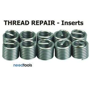 THREAD-REPAIR-Inserts-IMPERIAL-Recoil-Powercoil-amp-Helicoil-Insert-Packets-UNC-UN