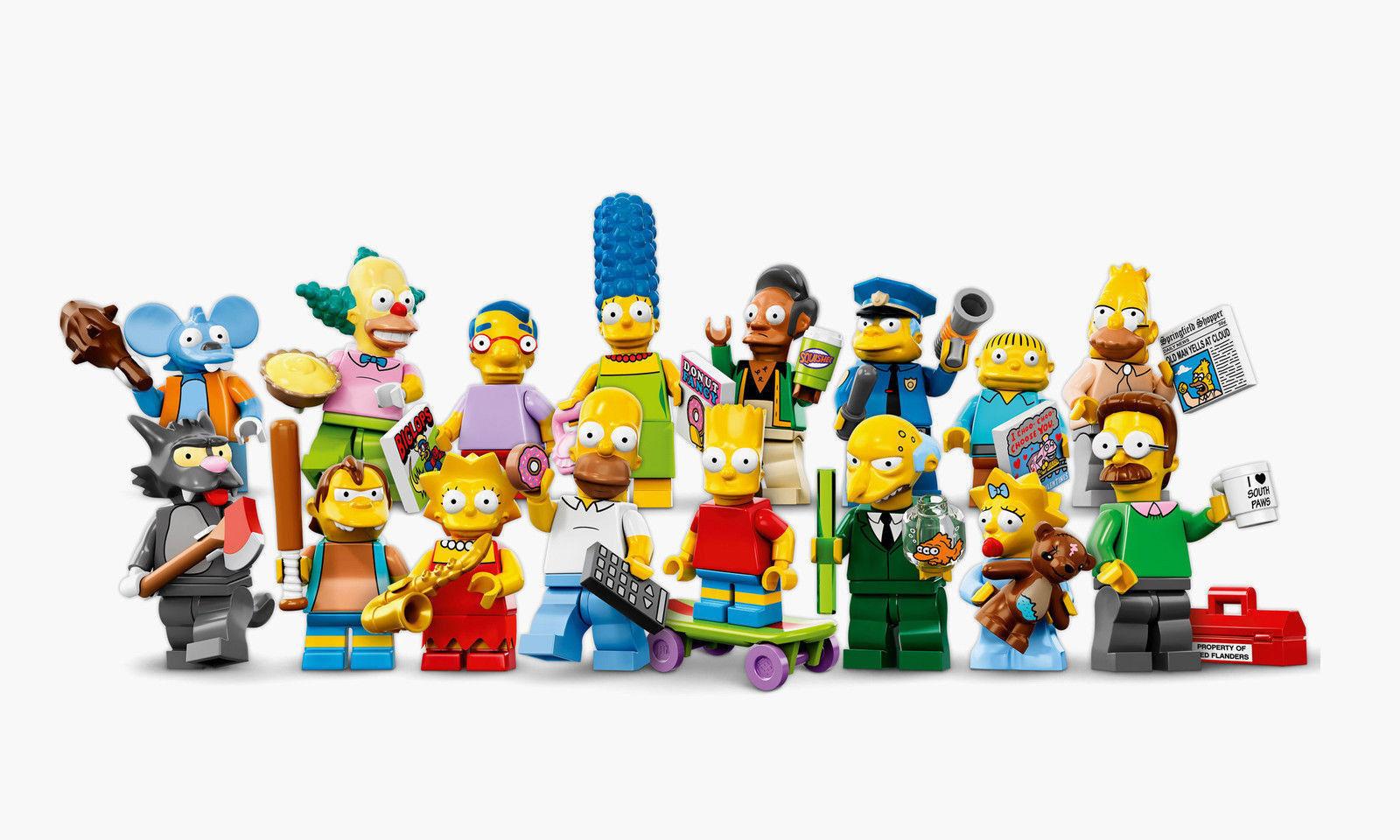 Lego Figurines Série Simpsons, Complet - Complet Series 16pcs Mini Figurines