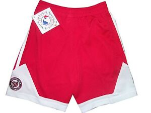 f5d275033cd New NWT Youth Boys MLB Washington Nationals Red White Athletic ...