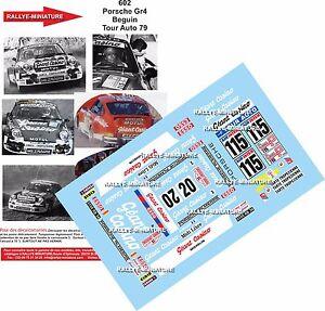 DECALS 1//32 REF 629 PORSCHE 911 COPPIER TOUR DE FRANCE AUTO 1979 RALLYE RALLY