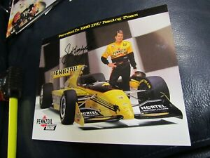Scott Goodyear autographed Photo Formula 1