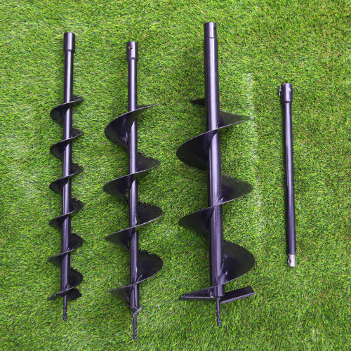 """Fence Borer Bits Set 4/"""" 6/"""" 8/"""" Earth Auger Drill Bit For Post Hole Digger Tools"""
