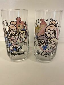 Vintage-1985-Karman-Ross-Productions-The-Chipettes-2-Dringing-Glasses