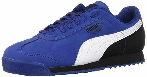 Puma Roma Basic Classic bluee White Black Retro Casual Nubuck Mens shoes Sizes