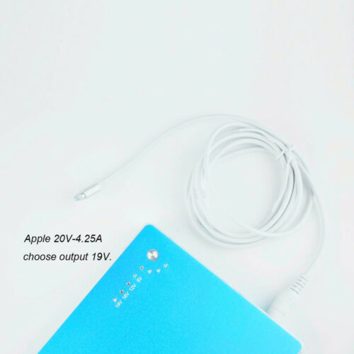 5.5 2.5mm Power Bank Pack Male Connector DC MagSafe2 Cable For Macbook Air Pro